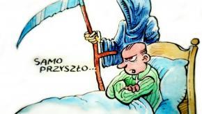 """Rys. Krzysztof """"Rosa"""" Rosiecki"""